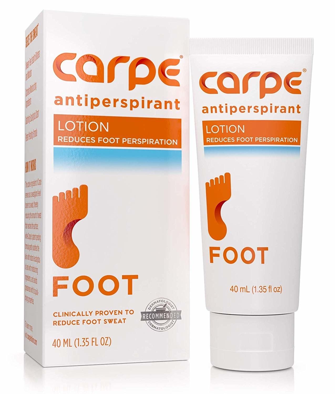 Capre Antiperspirant Foot Lotion