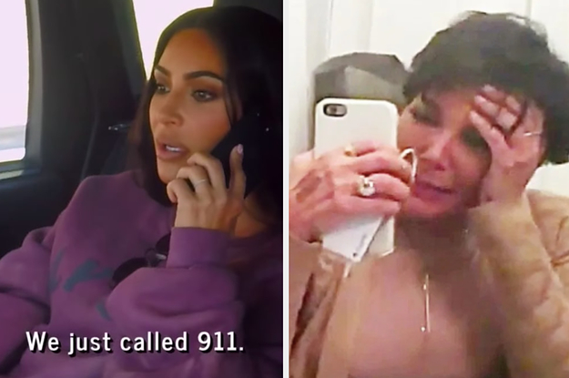 Kris Jenner Was Tackled By Kim Kardashian's Security Team And Rushed To The Hospital