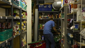 Food Banks Have Seen A Massive Increase In Demand In Areas Which Have Universal Credit