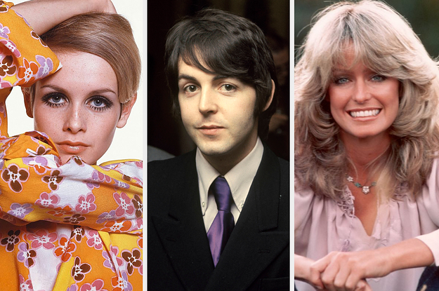 If You Recognize More Than 35 Of These Iconic Celebs, You're Probably A Baby Boomer