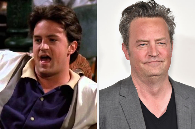 "Here Are Side-By-Sides Of The ""Friends"" Cast In Their First Episodes Vs. Now"