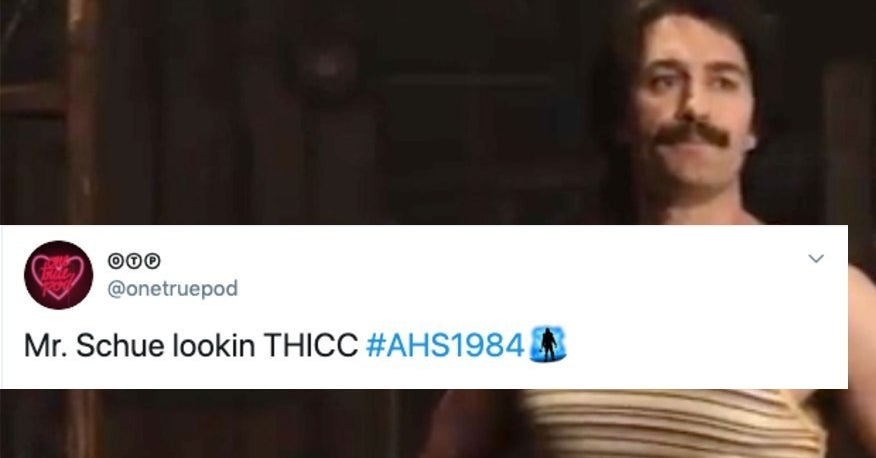 """24 Reactions """"Glee"""" Fans Had During Matthew Morrison's Big Debut On """"AHS: 1984"""""""