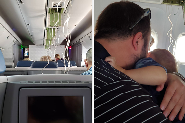A Delta Plane Plunged Nearly 30,000 Feet Midflight As Terrified Passengers Grabbed Oxygen Masks