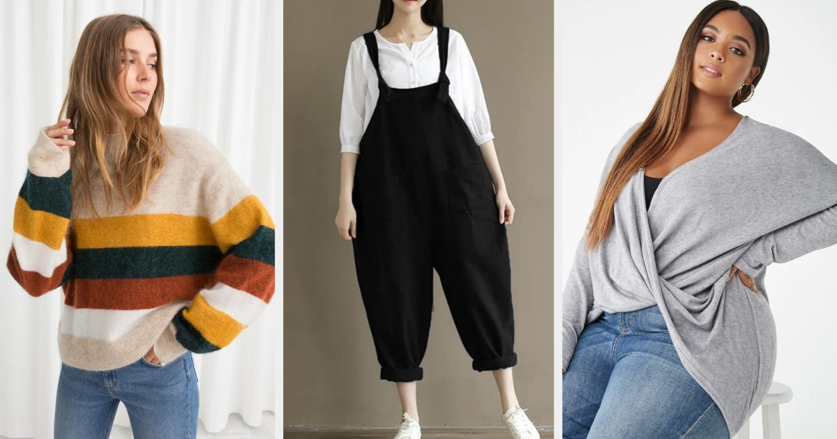 29 Bulky Pieces Of Clothing To Hide In If You Hate Attention