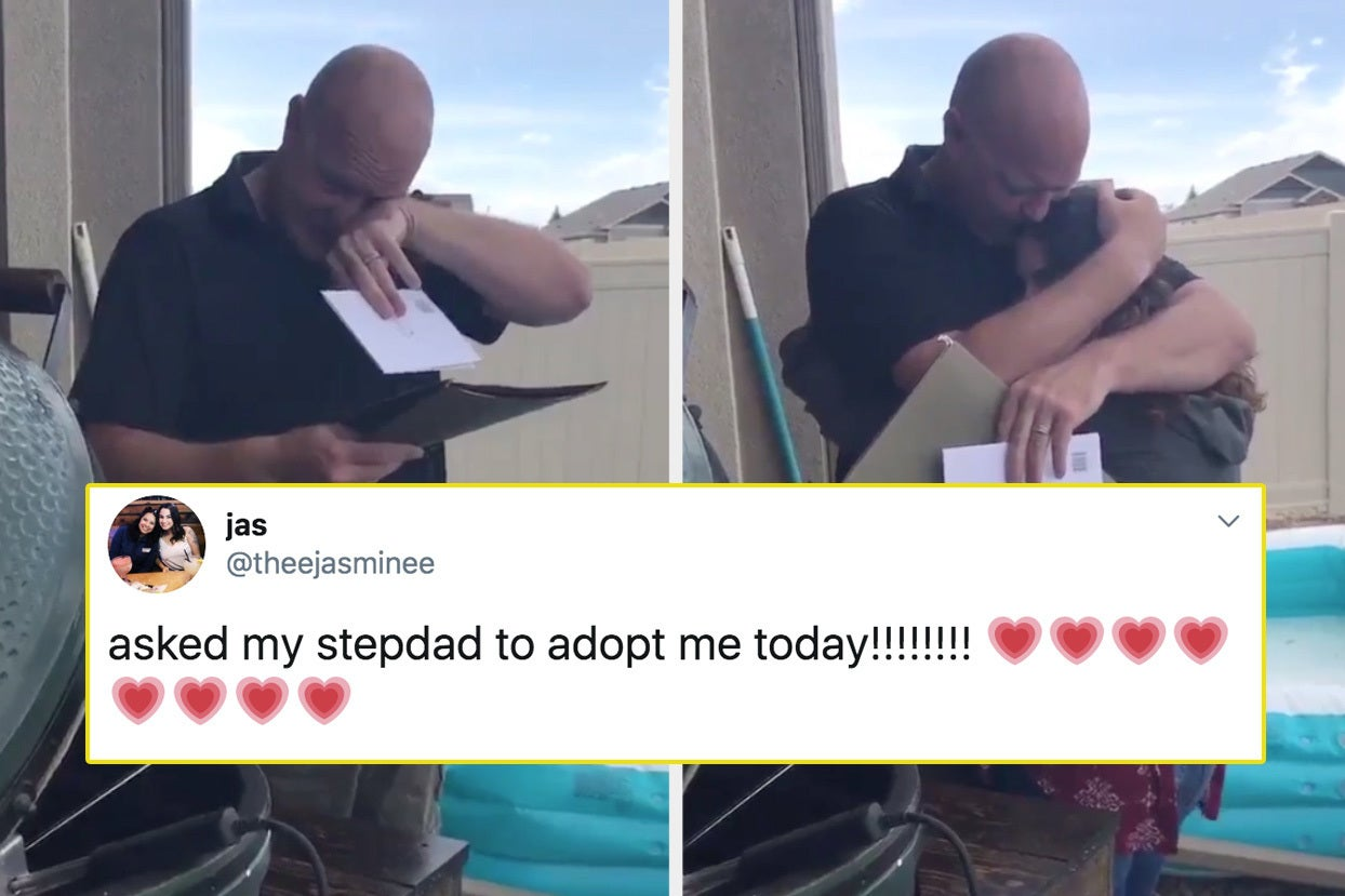 15 Tearjerking Moments Of People Asking Their Stepdads To Adopt Them