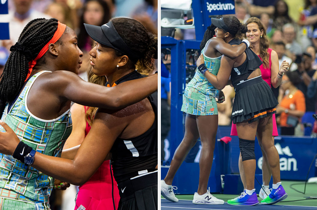 Billie Jean King, Kobe Bryant, And Others Are Praising Naomi Osaka And Coco Gauff After That Emotional Match At The US Open