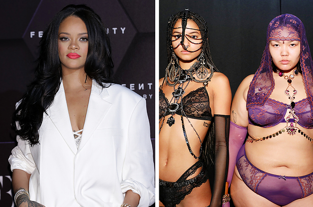 Rihanna's Savage X Fenty Lingerie Show Was The Most Diverse Yet And Fans Are Emotional About It