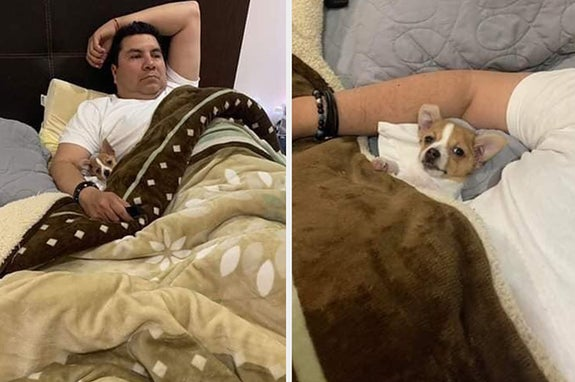 17 Mexican Dads Who Totally Lied About Not Wanting A Dog