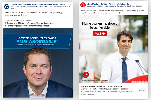 Canada's Liberal Party Is Outspending Conservatives Nearly 3 To 1 On Facebook And Instagram