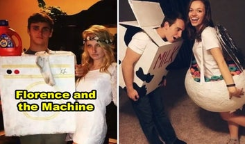 38 Two-Person Halloween Costume Ideas You've Probably Never Thought Of