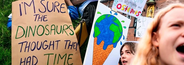 Here Are The Best, Most Creative, And Most Moving Global Climate Strike Signs