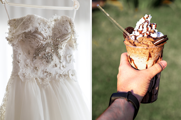 What Will Your Wedding Dress Look Like Based On The Desserts You Choose?