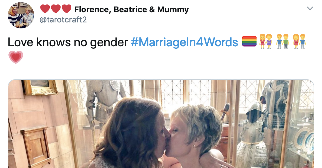 People Are Sharing Their View Of Marriage In Four Words And It's Both Adorable And Savage