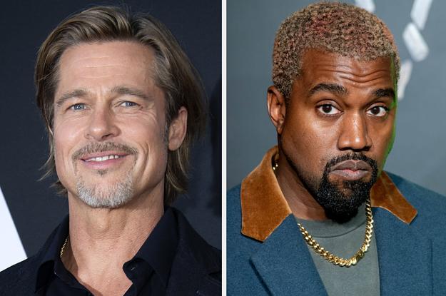 Brad Pitt Loves Kanye West As Much As Kanye Loves Kanye West
