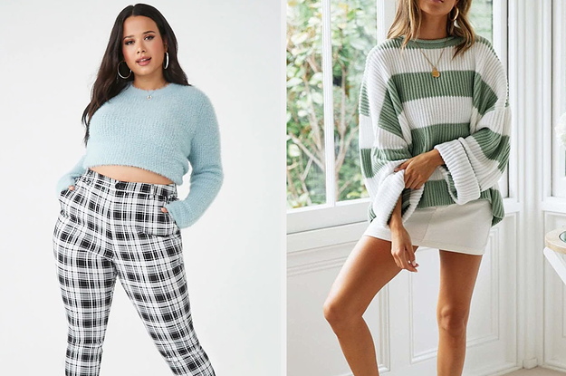 24 Affordable And Comfy Sweaters You'll Almost Never Want To Take Off