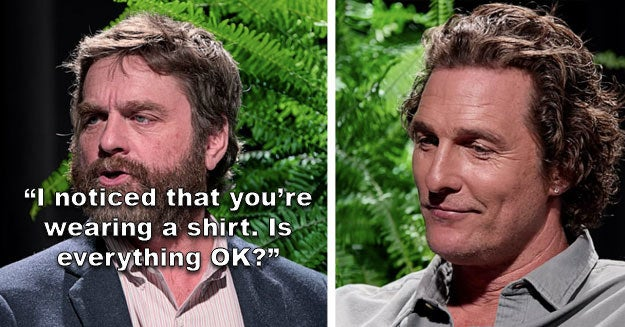 "17 Times Celebs Got Brutally Insulted On ""Between Two Ferns"""