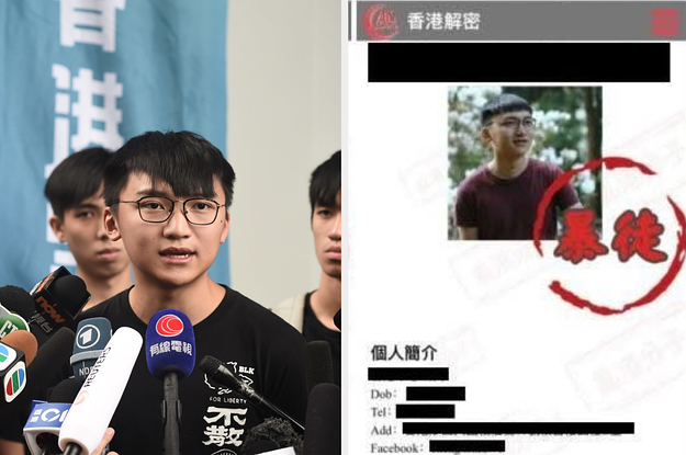 Anonymous Actors Are Doxing Hong Kong Protesters And Journalists. China Is Encouraging It.