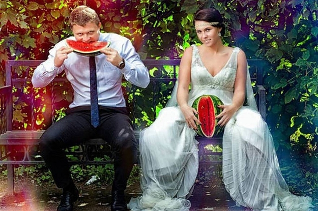 Fashion Trends : Top 10 Amazing Weird Wedding Photos That Will Make You Say WTF