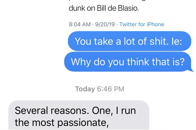 "Bill De Blasio On When It's Time To ""Get The Hell Out Of The Way"""