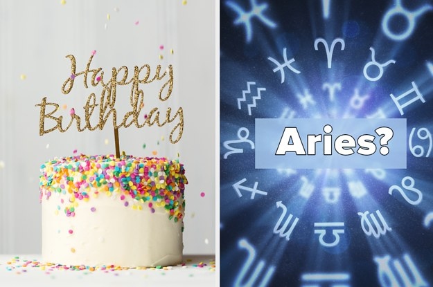Bake A Birthday Cake And We'll Guess Your Zodiac Sign With 99% Accuracy