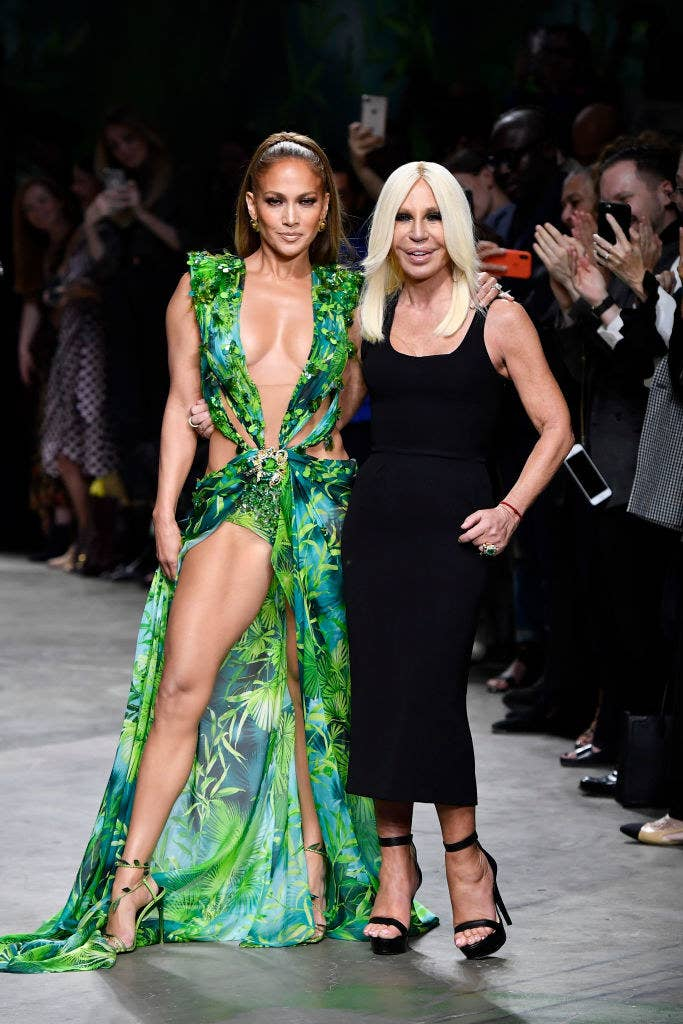 Jennifer Lopez And Her Iconic Green Dress Is All The
