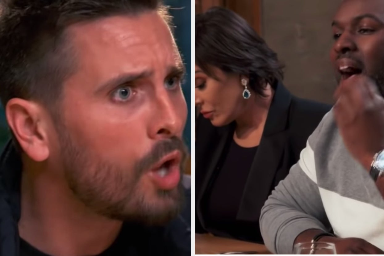 """Scott Disick Freaked Out When Corey Gamble Said He'd """"Whip"""" Penelope's Butt"""
