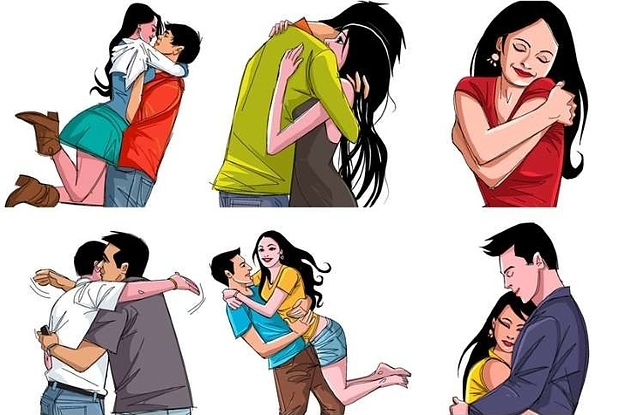 Amazing 8 Types Of Hugs & What They Say About Your Relationship : Happiness