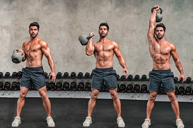 Workouts : 7 Of The Best Kettlebell Exercises To Build Muscle, According To Experts