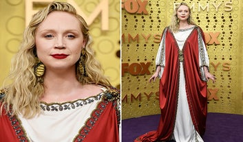Gwendoline Christie's 2019 Emmys Red Carpet Look Has Some Amazing