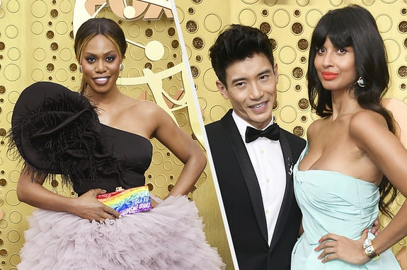 All The Red Carpet Looks At The Emmy Awards