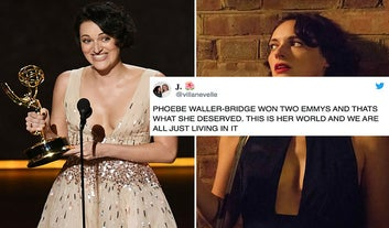 Phoebe Waller-Bridge Just Won Two Emmy Awards And The Reactions Are Simply The Best