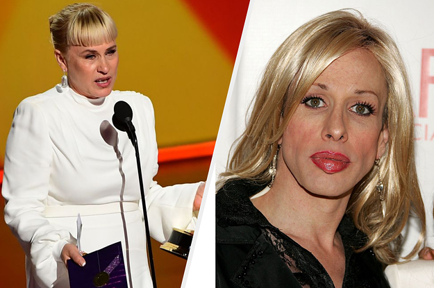 Patricia Arquette Delivered A Powerful Speech About Transgender Rights At The Emmys