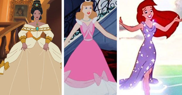 """Rate These Princess Outfits """"Fab"""" Or """"Drab"""" To Reveal Your Age And Style"""