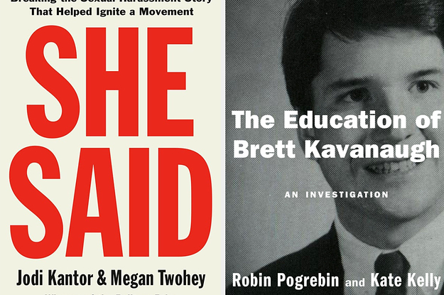 Two #MeToo Books Were Just Published. One Is Great. The Other Shows You What Not To Do.