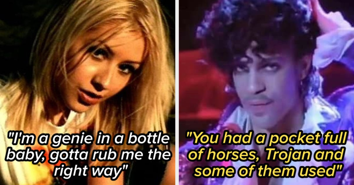 19 Songs From Your Childhood That Are Actually Pretty Dirty