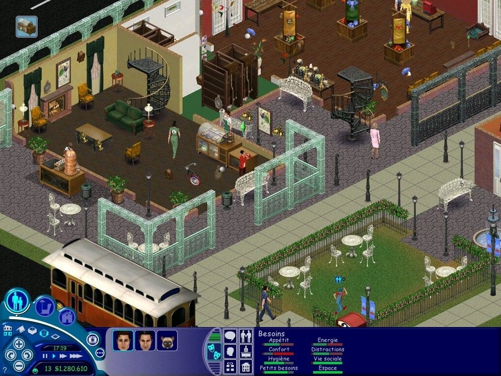 A screenshot of a house from the Sims.