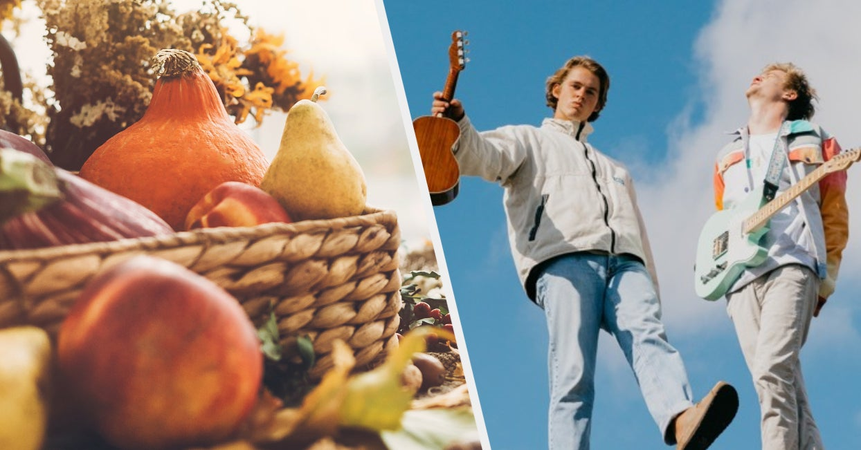 Eat Some Fall Food And We'll Give You An Indie Song To Listen To