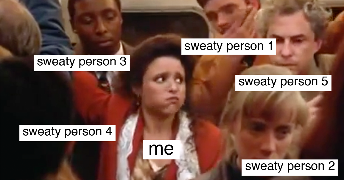 17 Things You've Experienced On Public Transport This Summer