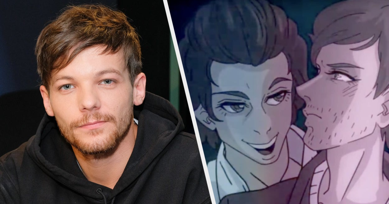 """Louis Tomlinson Opened Up About That Animated Harry Styles Sex Scene In """"Euphoria"""""""