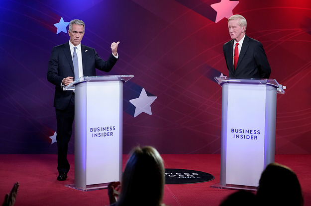 The Republican Presidential Primary Debate Was A Rare Rebuke Of Trump In His Own Party. Hardly Anyone Was Watching.