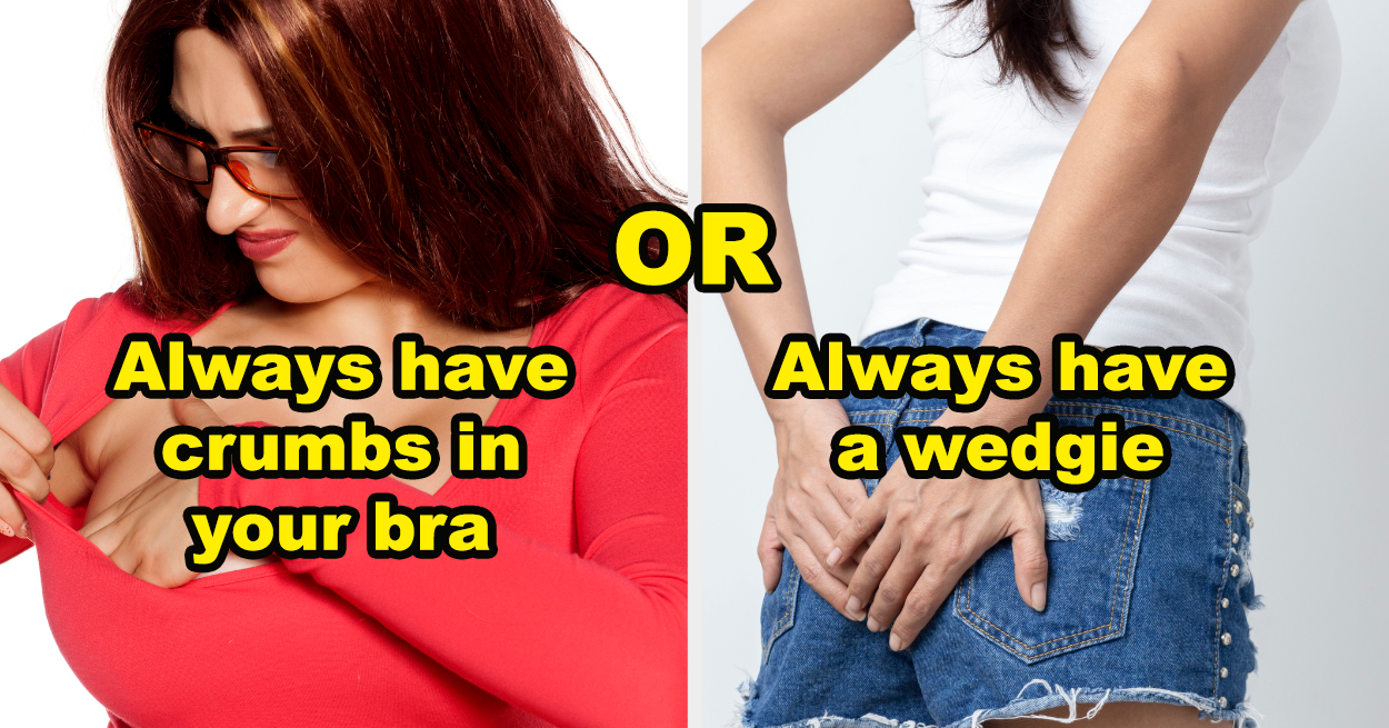 """The Hardest And Grossest Game Of """"Would You Rather"""" For Girls"""