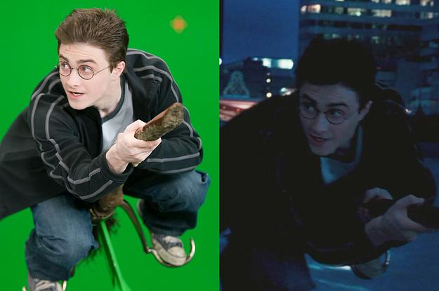 映画『ハリー・ポッター』シリーズ CGの魔法がとけたらこんな感じだった
