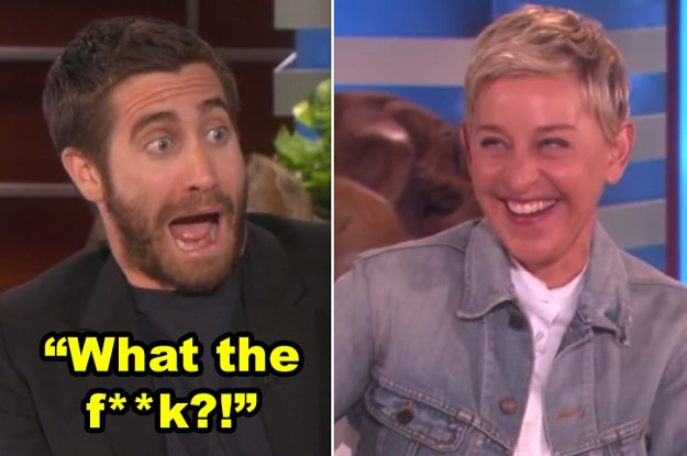 27 Times Ellen DeGeneres Scared The Hell Out Of Famous People