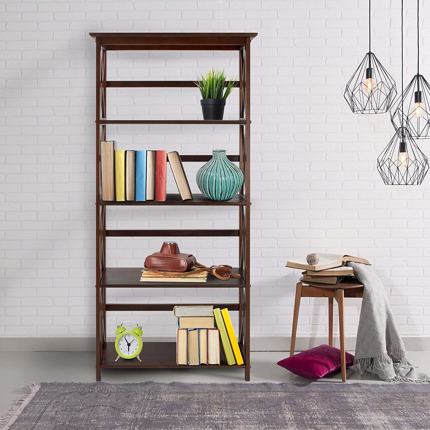 the four-tier bookcase