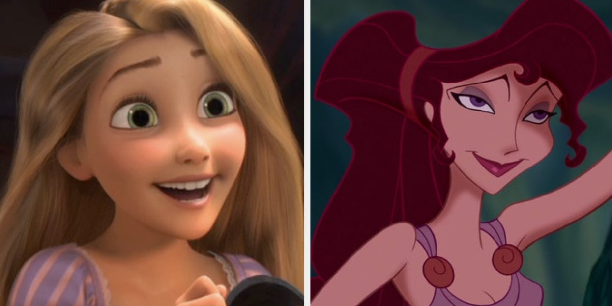 """Are You More Rapunzel From """"Tangled"""" Or Megara From """"Hercules""""?"""