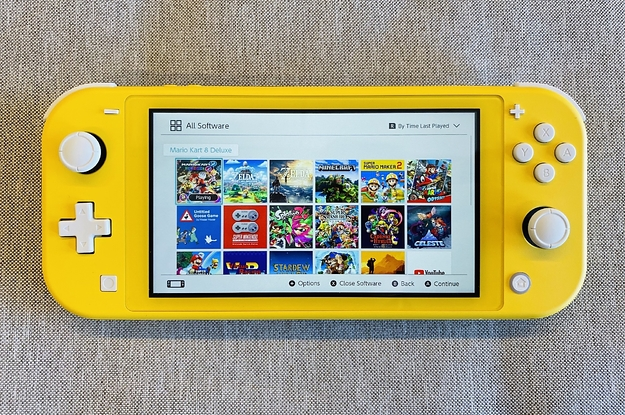 Here's Why You May Want To Buy A Nintendo Switch Lite Even If You Already Have A Switch