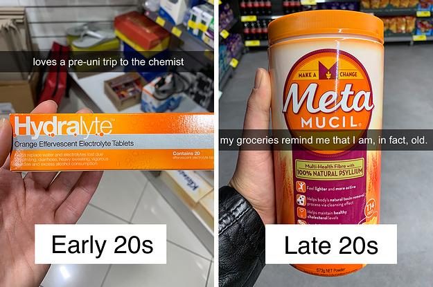 Mid 20s age