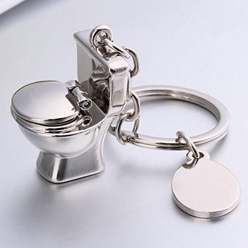toilet keychain