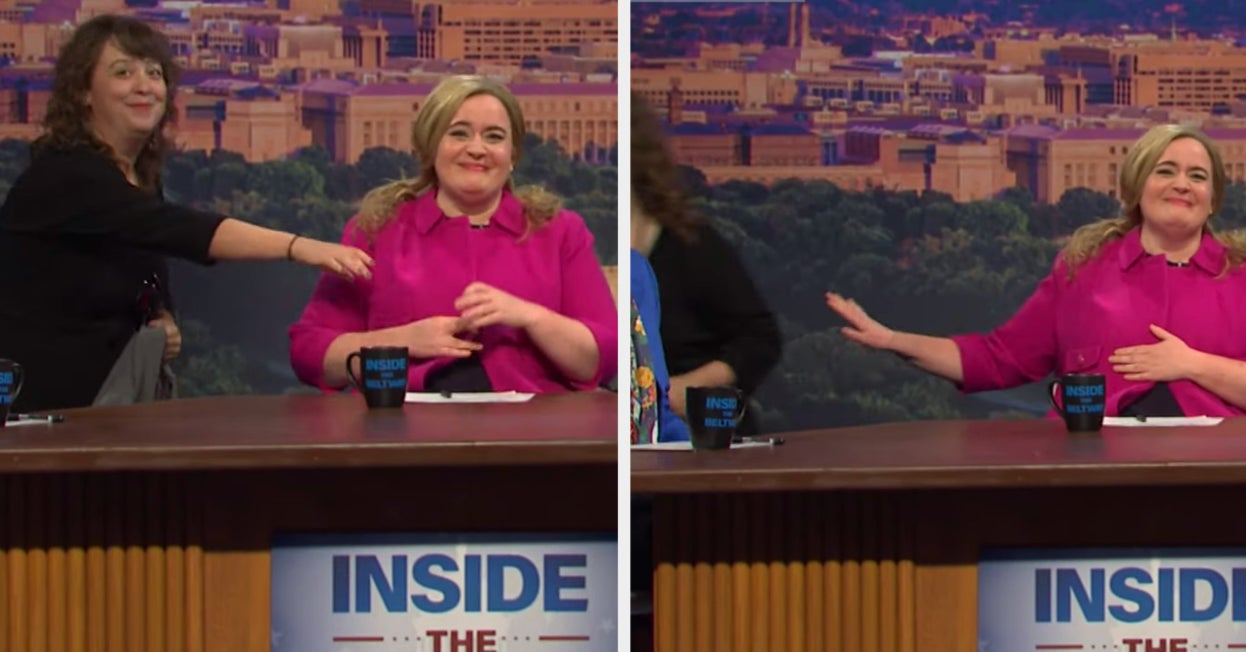 """This Wardrobe Mishap On """"SNL"""" Made The Whole Cast Break Character"""