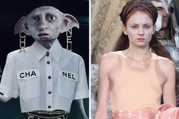 "Instagrammer Rachel Bernstein Edits Characters From ""GoT"" And ""Harry Potter"" To Look Runway Ready And It's Truly Incredible"